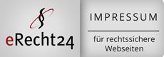 Impressum Siegel eRecht24